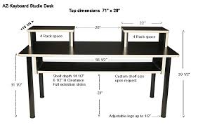 az keyboard studio desk at home writers u0027 room pinterest