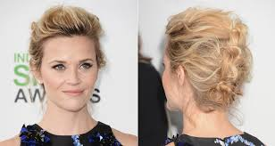 Hochsteckfrisurenen Glattes Haar by Hochsteckfrisur Reese Witherspoon Bilder Madame De