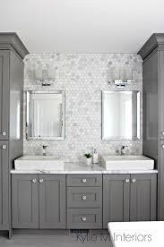 Benjamin Moore Chelsea Gray Kitchen by Double Vanity In Bathroom Painted Benjamin Moore Chelsea Gray