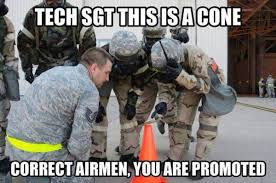 Airforce Memes - how to get promoted in the air force military humor