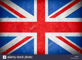 British Flag Nails Flag Of Great Britain Or British National Banner On Paper Rough