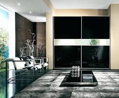 wardrobe black 2m glass sliding wardrobe doors appealing