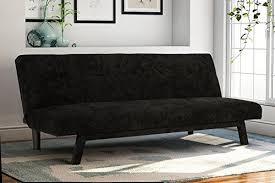 futon sofa bed with storage amazon com
