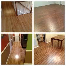 interior great dark brown solid hard wood flooring design as home