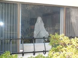 halloween grim reaper prop ghost in window halloween prop made by alan