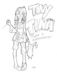 borderlands 2 fanart tiny tina by victorycabbage on deviantart