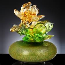 Buddhist Treasure Vase A Vase Of Riches Treasure Vase Prosperity White Yulan Luck