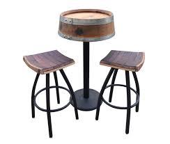 Wine Barrel Fire Pit Table by Vin De Flame U2013 Authentic Living U2013 Wine Barrel Fire Pits