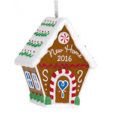 hallmark new home 2016 gingerbread house ornament walmart