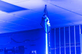 Led Whip Flags Inc Blue 4 U0027 Quick Release Led Lighted Whip