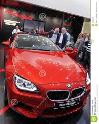 red bmw red bmw m6 coupe editorial image image of motor motorshow 23898045