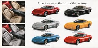 2000 corvette specs colors facts history and performance