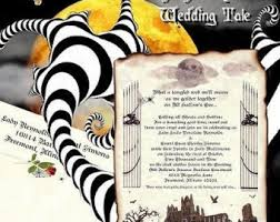 qty 25 graveyard halloween gothic wedding invitations scroll