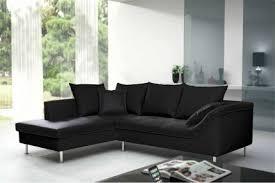 canapé angle design canapé d angle design donato noir angle gauche