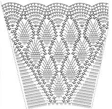 easy to crochet christmas tree skirt pattern an easy to crochet