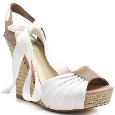 ribbon wedges the exclusive fashion icon for the white wedge shoes