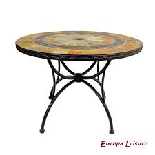 Mosaic Patio Table And Chairs by Europa Alcira Mosaic Patio Table