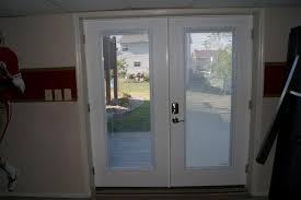 Glass Blinds Fiberglass French Doors With Blinds Between Glass U2014 Prefab Homes