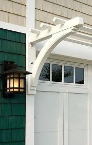 Vine Trellis Ideas Garage Ideas Shingle Home Trim Door Millworkgarage Trellis
