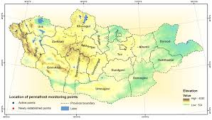 Mongolia On World Map Mongolia