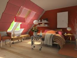 Bedroom Designs Small Rooms With Slanted Roofs Bedroom Beauty Red Bedroom Attic Ideas With Cool Decor Choosing