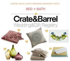 wedding registry ideas wedding registry ideas from crate barrel united with