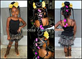 Little Girls Ponytail Hairstyles by Princess Diva Hairstyle U0026 Ootd 5 25 2016 Youtube