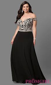 plus size prom dresses and evening gowns promgirl
