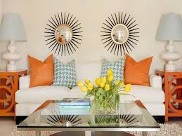 Leather Home Decor by Amazing Home Decorating Ideas On A Budget With White Leather Sofa