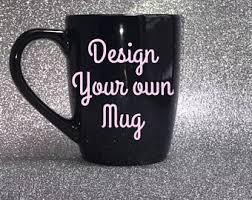 custom coffee mug etsy
