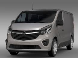 opel vivaro opel vivaro van 2015 3d model vehicles 3d models cargo max fbx c4d