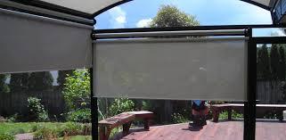 Exterior Patio Blinds Outdoor Roller Blinds Mesh Cafe Blinds U0026 Cafe Curtains