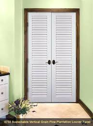 louvered doors home depot interior louvered interior doors half louver 1 panel unfinished pine wood