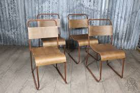 Industrial Dining Chair Industrial Style Dining Chair Stacking In For Brilliant Residence