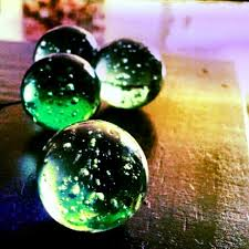 92 best colored glass balls images on colored glass