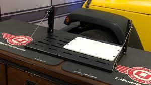 jeep wrangler jk teraflex tailgate table multipurpose with cutting
