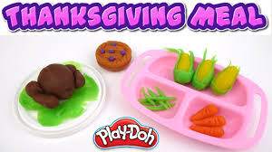 can you make play doh thanksgiving turkey meal family