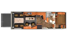 toy hauler travel trailer floor plans lance 2612 toy hauler swallows rzr u0027s whole with room for desert