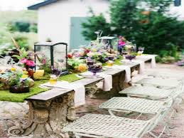 outdoor table design ideas spring table decorations ideas dining