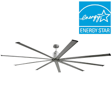 big air 72 in indoor metallic nickel industrial ceiling fan icf72