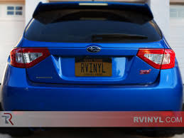subaru wagon 2014 rtint subaru wrx wagon 2008 2014 tail light tint film