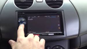 mitsubishi eclipse with pioneer avh p1400dvd youtube