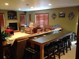 table that goes behind couch sofa table with stools best bar behind couch ideas on bar table