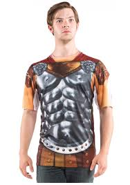 mens gladiator costume tshirt halloween costumes