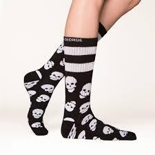 halloween knee socks skull socks halloween arthur george socks by rob kardashian