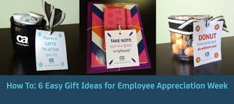 how to 6 easy gift ideas for employee appreciation week bring