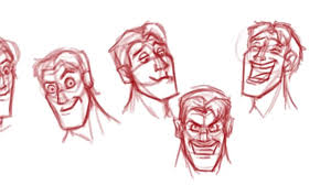 how to draw faces expressions for animation youtube