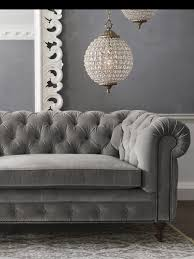 Grey Velvet Chesterfield Sofa by Chesterfield Sofa Living Room Ideas Others Extraordinary Home Design