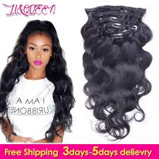 Human Hair Extensions With Clips by Online Get Cheap Human Hair Extensions Clips Aliexpress Com