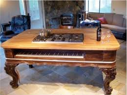 Repurposed Kitchen Island Ideas Piano Turned Grand Kitchen Island Rad Repurposing Pinterest